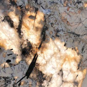 Określany mianem skarbu Brazylii, każdy inny i bajecznie abstrakcyjny kwarcyt Patagonia. Fot. Intertstone