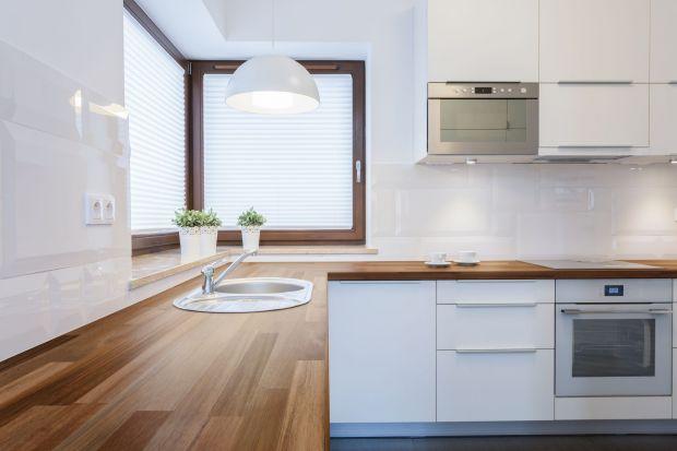 Drewniane blaty do kuchni i łazienki - radzimy jak je wybrać