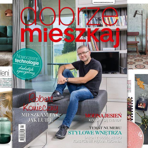 Magazyn Dobrze Mieszkaj - nowe wydanie już w sklepach