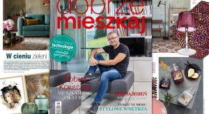"""W sprzedażyznaleźćjuż można nowe wydanie magazynu """"Dobrze Mieszkaj"""". Gwiazdą tego numeru jest architekt Robert Konieczny, który oprowadził nas po swoim niezwykłym domu. Co jeszcze? Sporo pięknych i inspirujących wnętrz, poradniki"""