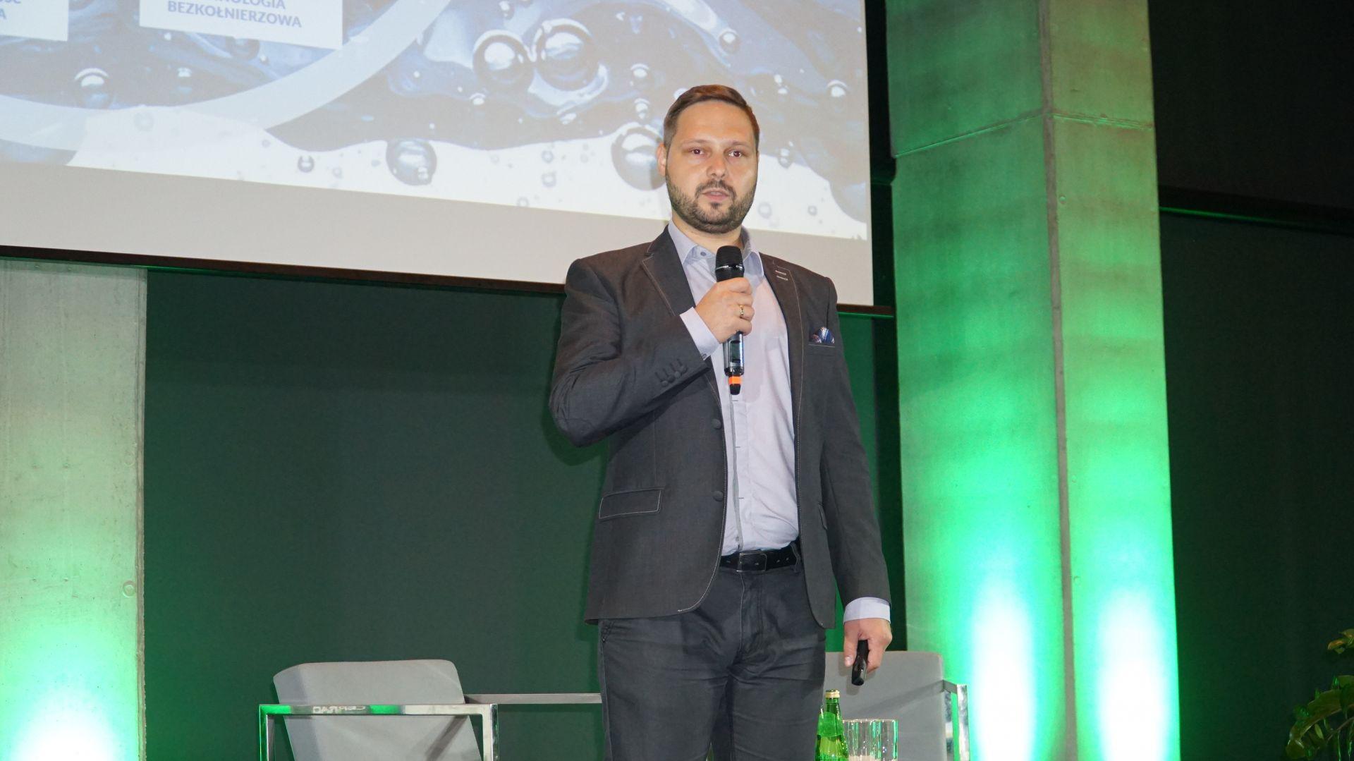 Prezentacja Partnera Głównego - Piotr Wychowaniec, firma Cersanit.