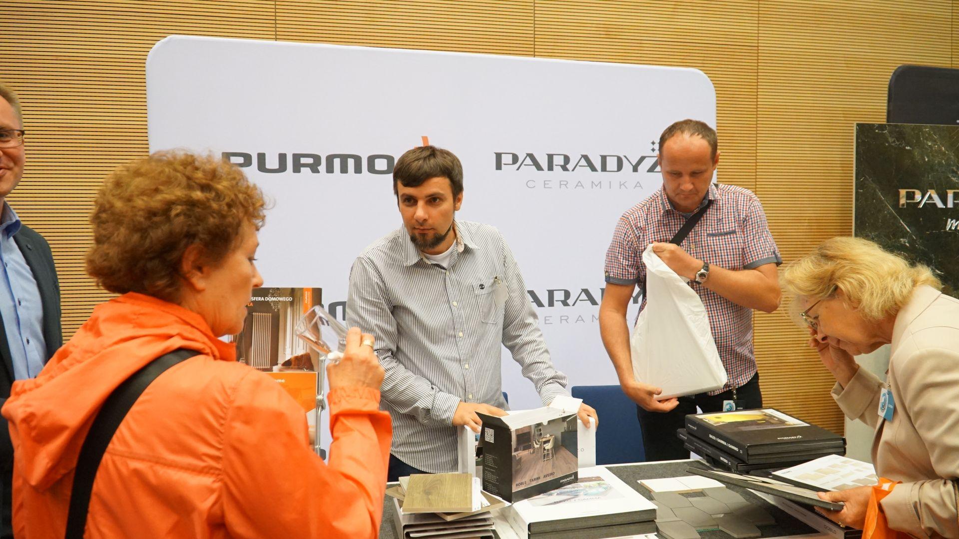 Stoisko Ceramiki Paradyż i Purmo