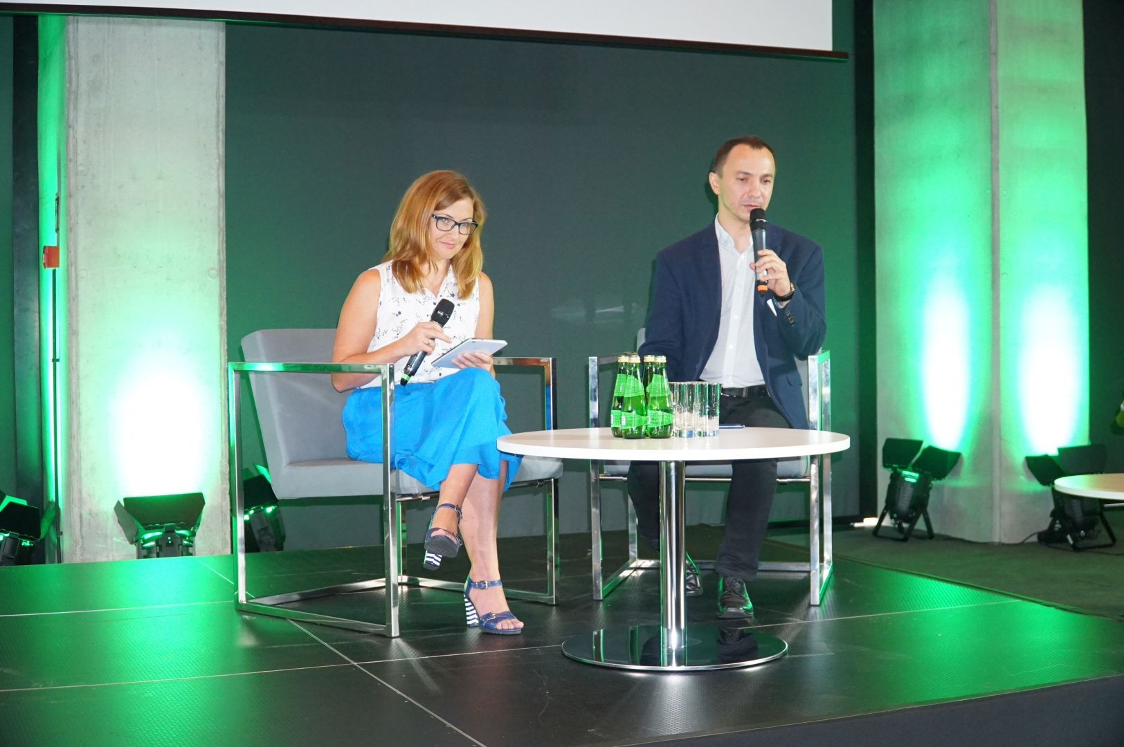Katarzyna Zajchowska i Rafał Janus z firmy Massi