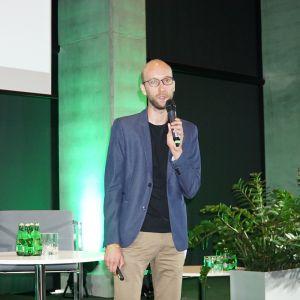 Wystąpienie gościa specjalnego Studia Dobrych Rozwiązań w Katowicach - Kamila Laszuka