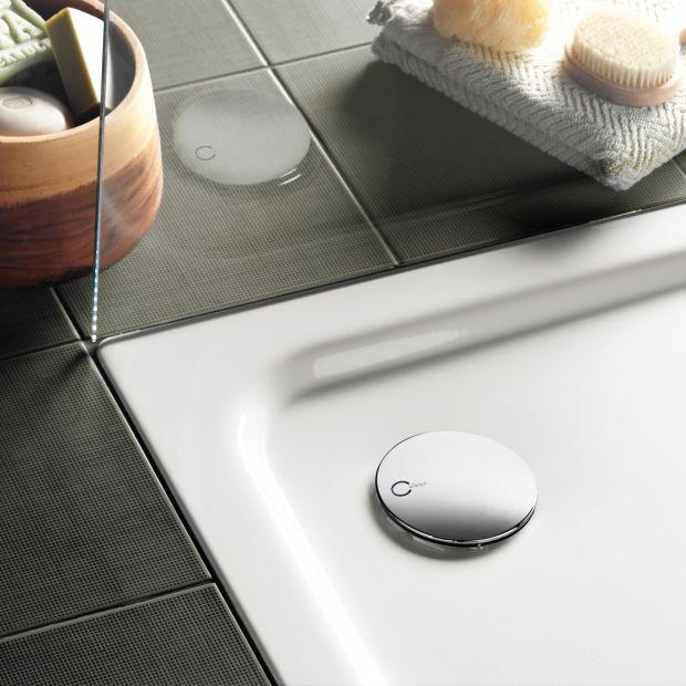 Praktyczna łazienka - odpływ do płaskiego brodzika