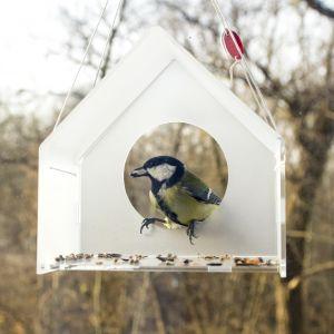 Seria karmników dla ptaków Tweet Resto Bar. Projekt i Fot. Jolanta Uczarczyk
