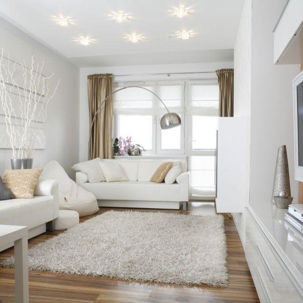 Białe meble do salonu: najpiękniejsze kolekcje