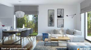 Prosta bryła, atrakcyjna elewacja - ten dom jest tani i szybki w budowie, a przy tym komfortowy. Zobaczcie projekt z zewnątrz i wnętrza!