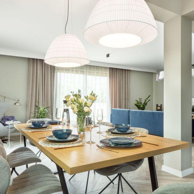 Coś niebieskiego - zobacz piękny projekt domu