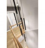 Piętro domu to prywatna przestrzeń. Projekt: Katarzyna Maciejewska. Fot. Anna Laskowska, Dekorialove