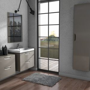 Meble do łazienki z kolekcji Flou dostępne w ofercie firmy Defra. Fot. Defra
