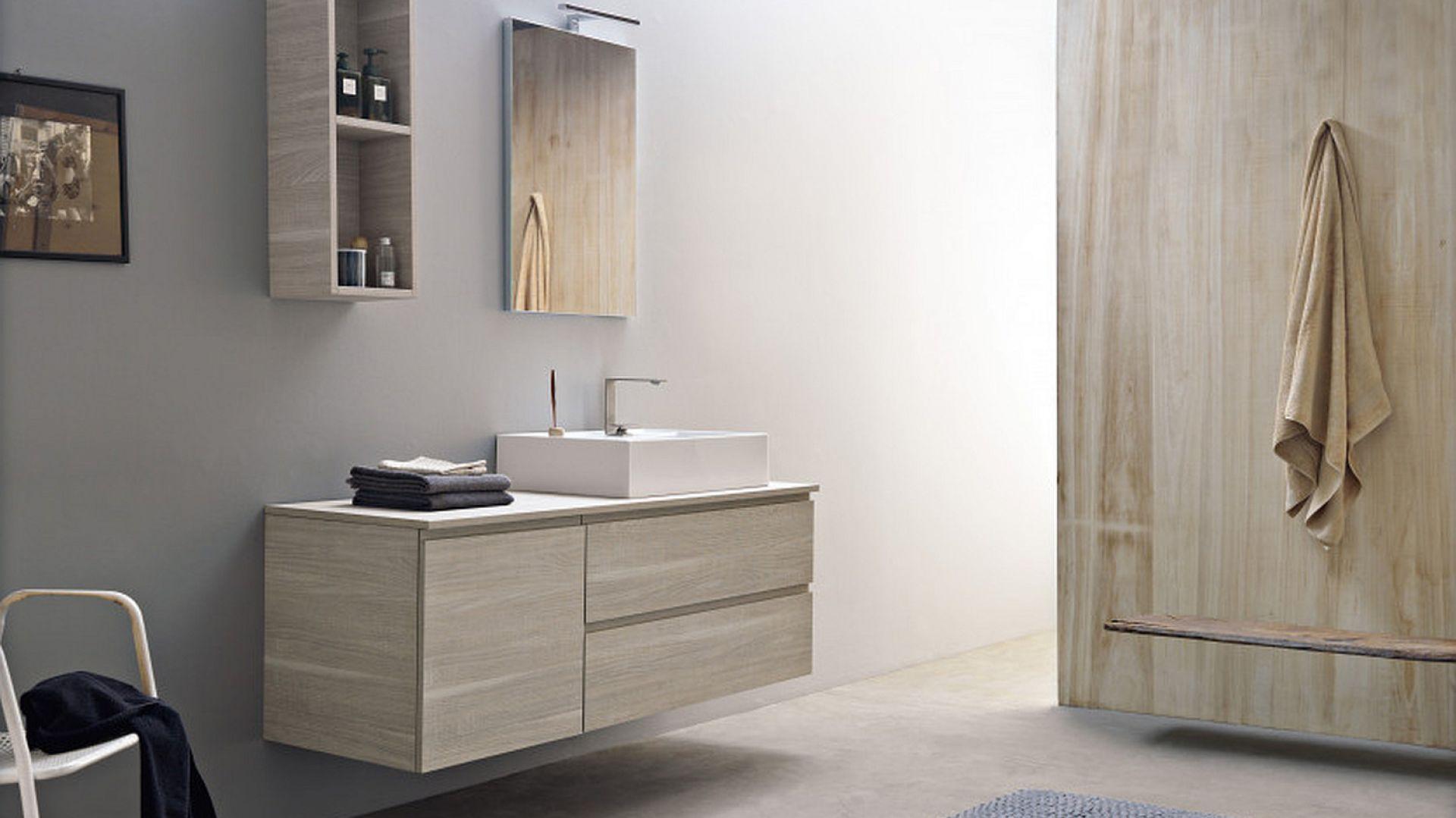 Meble łazienkowe z kolekcji Phorma dostępne w ofercie firmy Scarabeo Ceramiche. Fot. Scarabeo Ceramiche