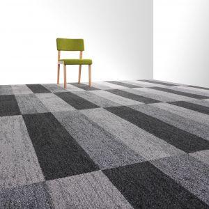Płytka dywanowa Interweave/Voxflor. Produkt zgłoszony do konkursu Dobry Design 2019.