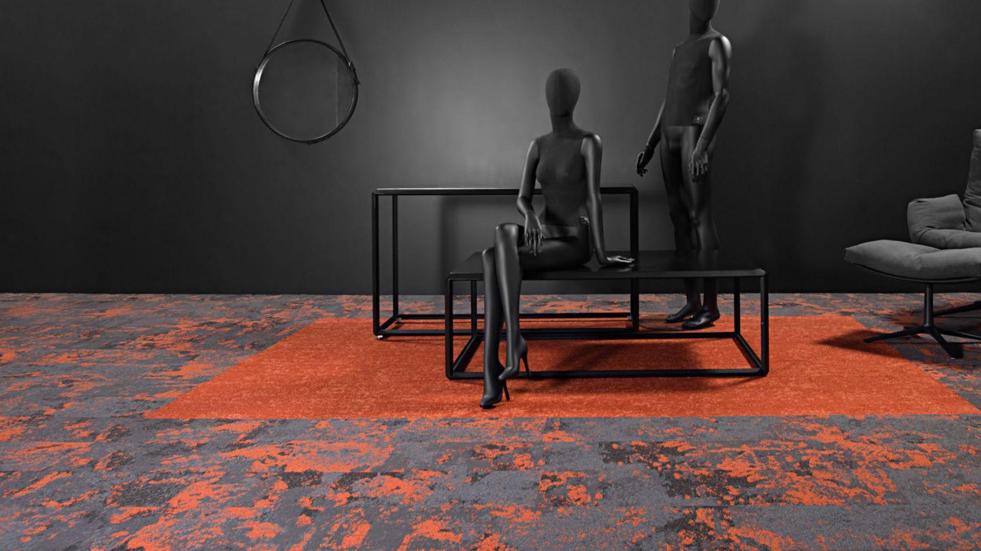 Płytka dywanowa Mundi/Voxflor. Produkt zgłoszony do konkursu Dobry Design 2019.