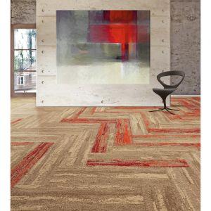 Płytka dywanowa Season/Voxflor. Produkt zgłoszony do konkursu Dobry Design 2019.