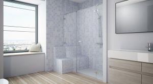Coraz więcej firm produkujących wyposażenie łazienek dostrzega potrzeby osób niepełnosprawnych ruchowo iproponuje rozwiązania, których celem jest poprawienie komfortu ich codziennego życia. Odpowiednio zaprojektowana strefa prysznica zagwarantu