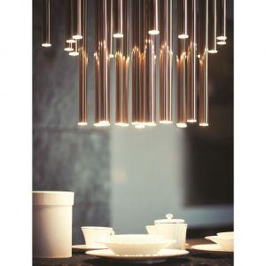 Lampa Organic cooper P0174, Maxlight/MaxFliz. Produkt zgłoszony do konkursu Dobry Design 2019.