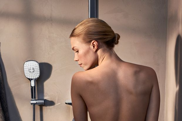 Strefa prysznica - nowy model rączki natrysku