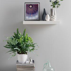 Skandynawskie wnętrze - pomysł na ścianę: farba Designer Collection kolor Rhythm. Fot. Beckers