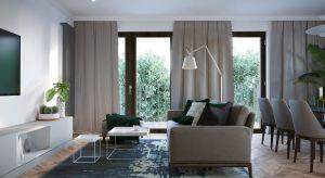 """Ten apartament pasuje do właścicieli jakby został skrojony na miarę: nowoczesny, wyważony, ale z drapieżnym """"pazurem"""", jasny, rozświetlony dużą ilością okien i tafli szkła."""