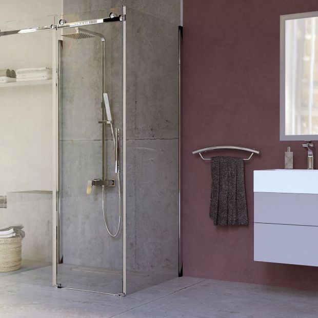 System ścianek i drzwi prysznicowych Hiacynt/Deante