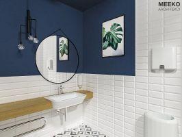 Toaleta ogólna. Wizualizacja: MEEKO Architekci