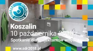 10 października na architektów i projektantów wnętrz z Koszalina oraz okolic czekać będzie solidna porcja informacji o najnowszych trendach i nowościach produktowych. Po raz pierwszy w tym mieście odbędzie się spotkanie w ramach Studia Dobrych R