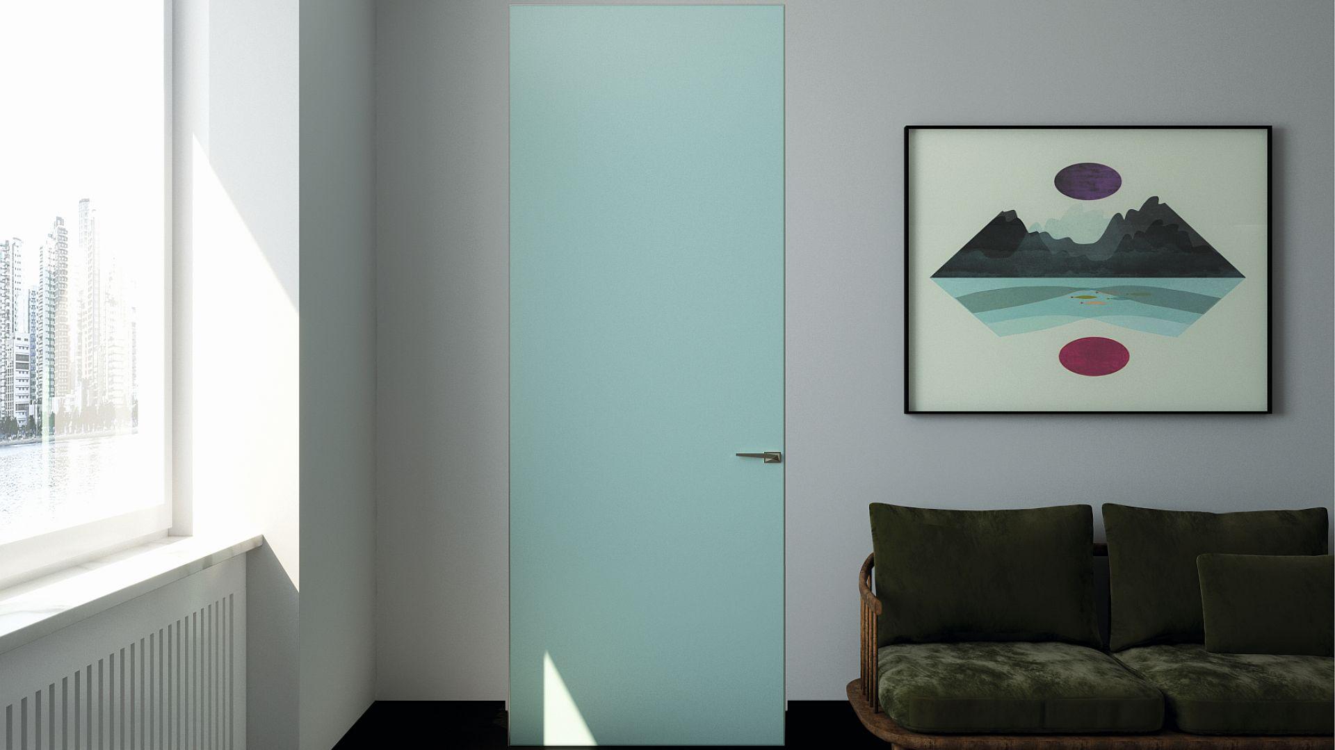 Drewniane drzwi, ukryte, z ościeżnicą ALU PIU Wood Line, znakomicie łączą się ze stylem współczesnych wnętrz. Elegancja, harmonia i minimalizm we wnętrzu. Cena: od 1.900 zł/komplet. Dostępne w ofercie firmy PIU Design. Fot. PIU Design