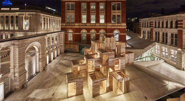 Pawilon MultiPly na Londyńskim Festiwalu Designu