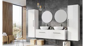 Smukła linia serii na nowo definiuje pojęcie komfortu. Futuris to nowoczesna kolekcja mebli łazienkowych, która charakteryzuje się wyjątkowym designem. Wykonana jest z wysokiej jakości materiałów z zachowaniem największej staranności wykończen