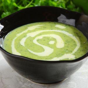 Zielony krem z cukinii. Fot. Knorr