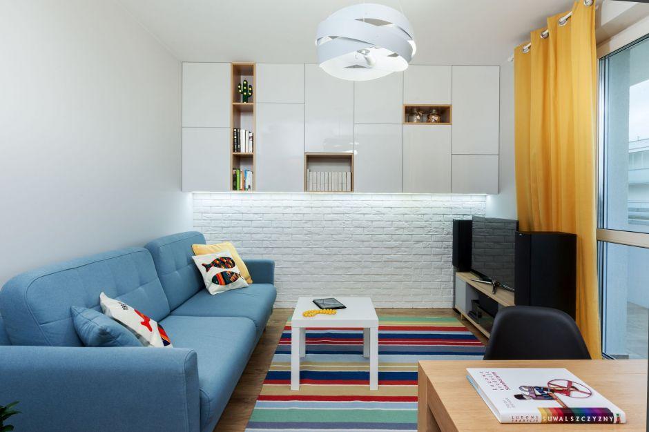 Przytulnie, kolorowo i funkcjonalnie - tak mieszka pięcioosobowa rodzina
