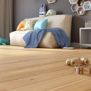 Modna podłoga trójwarstwowa Deski Dąb Unique. Fot. Baltic Wood