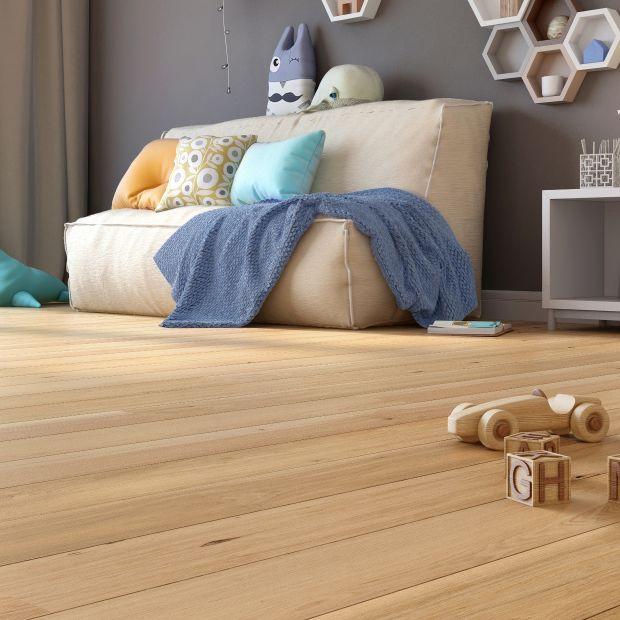Podłoga drewniana - piękna warstwówka z dębu