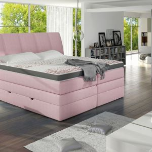 Korfu - łóżko kontynentalne marki Comforteo. Fot. Comforteo