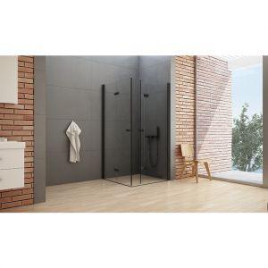 Kolekcja kabin prysznicowych New Soleo Black/New Trendy. Produkt zgłoszony do konkursu Dobry Design 2019.