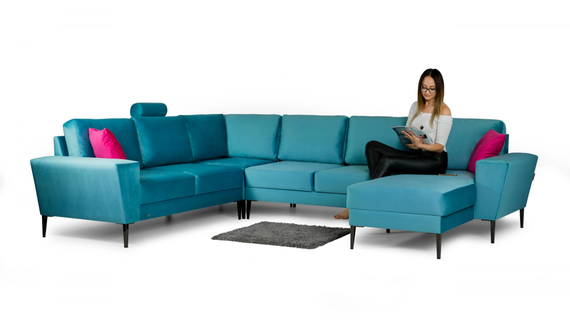 Narożnik VACO/Estetiv. Produkt zgłoszony do konkursu Dobry Design 2019.