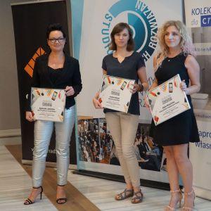 Dobrze Mieszkaj Najlepsze Projekty. Od lewej Agnieszka Jabłońska, Justyna Mojżyk, Edyta Niewińska