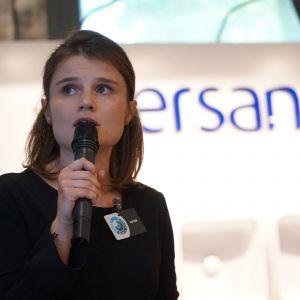 Katarzyn Kosińska, reprezentantka firmy Wiór, dystrybutor marki Blum