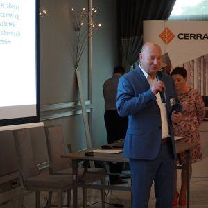 Mariusz Lubiński, reprezentant firmy Netto