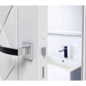 Klamka Laveo Savio. Produkt zgłoszony do konkursu Dobry Design 2019.