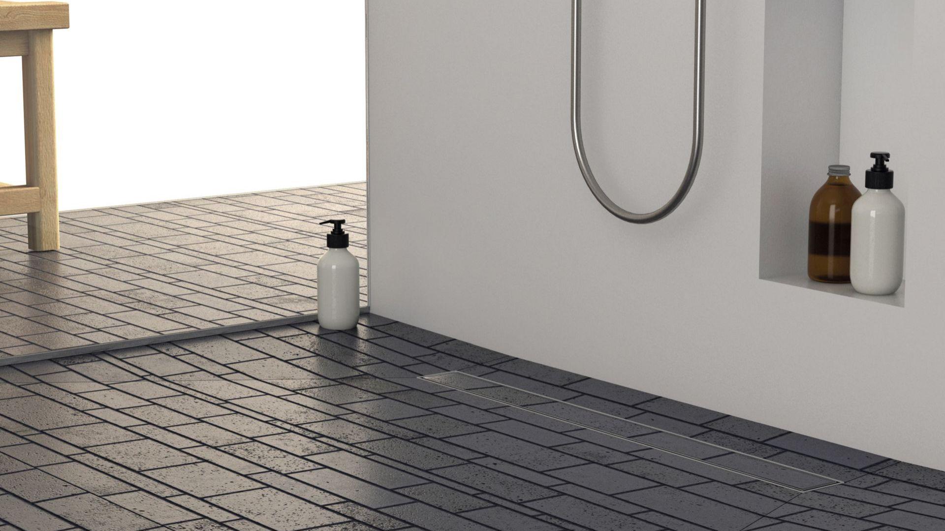 Odwodnienia liniowe Laveo Plado. Produkt zgłoszony do konkursu Dobry Design 2019.
