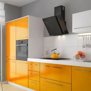 Okap kominowy Laveo Solano. Produkt zgłoszony do konkursu Dobry Design 2019.