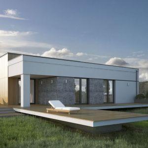 Dom, z racji parterowego układu, będzie doskonały dla rodziny z dziećmi, jak również osób starszych. Fot. Biuro Projektów MTM Styl