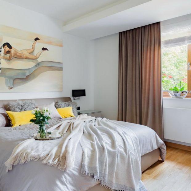 Klimatyczna sypialnia: 12 dobrych projektów