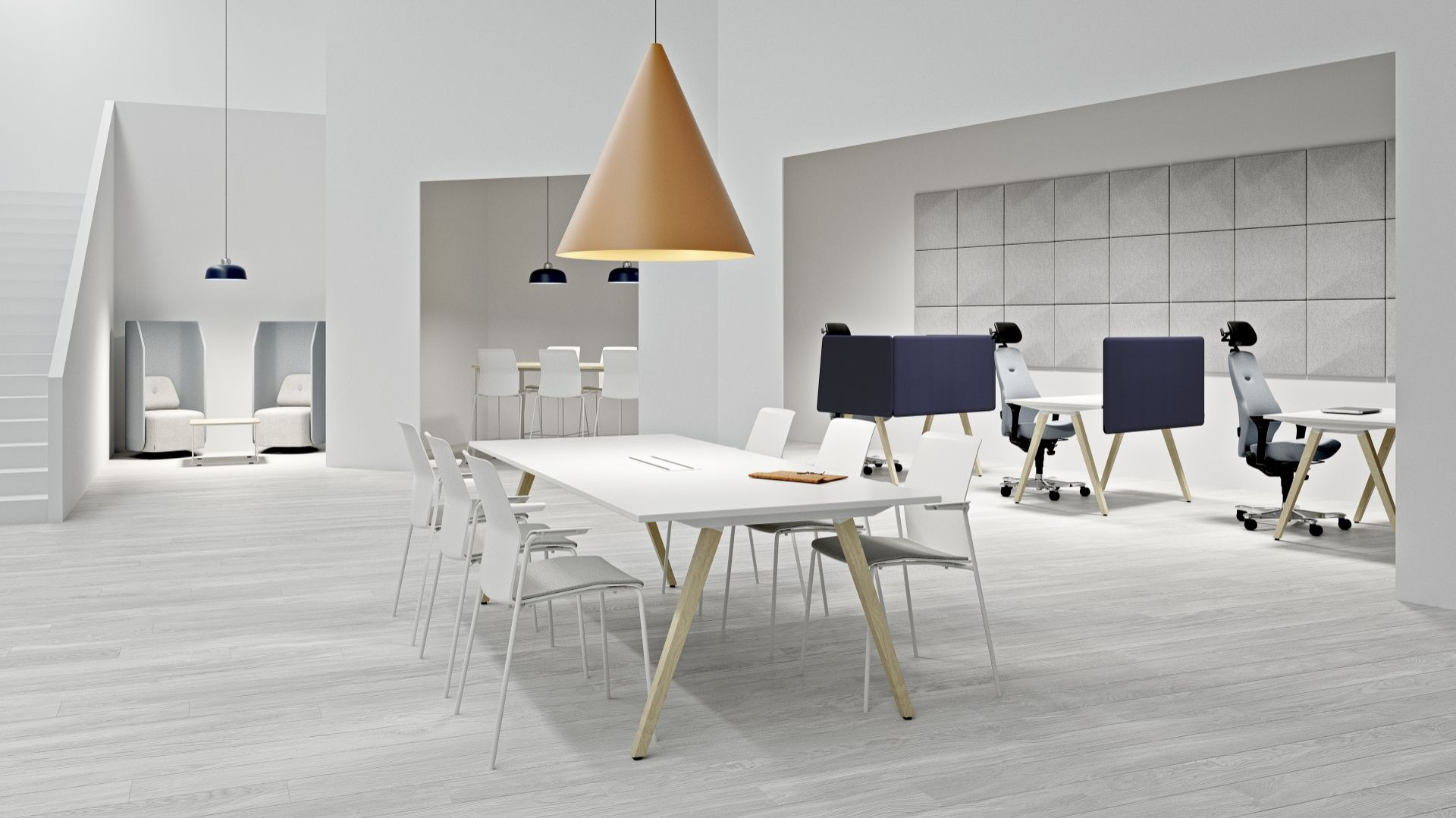 Nexus Meeting/Kinnarps. Produkt zgłoszony do konkursu Dobry Design 2019.
