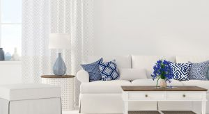 Ponadczasowa biel daje ogrom możliwości aranżacyjnych, tworząc uniwersalne tło dla każdej kompozycji. Skutecznie odbija też naturalne światło, dzięki czemu nawet małe pomieszczenia, w których dominuje biel, optycznie wydają się większe.