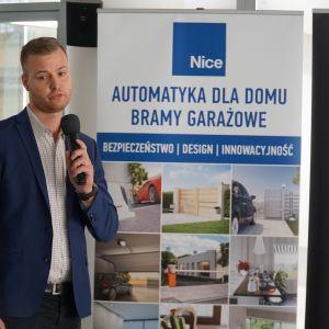Studio Dobrych Rozwiązań w Warszawie 26 września 2018. Cezary Fisz, firma Fibaro