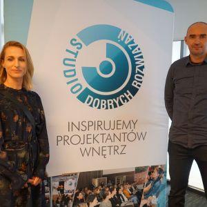 Studio Dobrych Rozwiązań w Warszawie 26 września 2018. Monika i Adam Bronikowscy - goście specjalni SDR w Warszawie