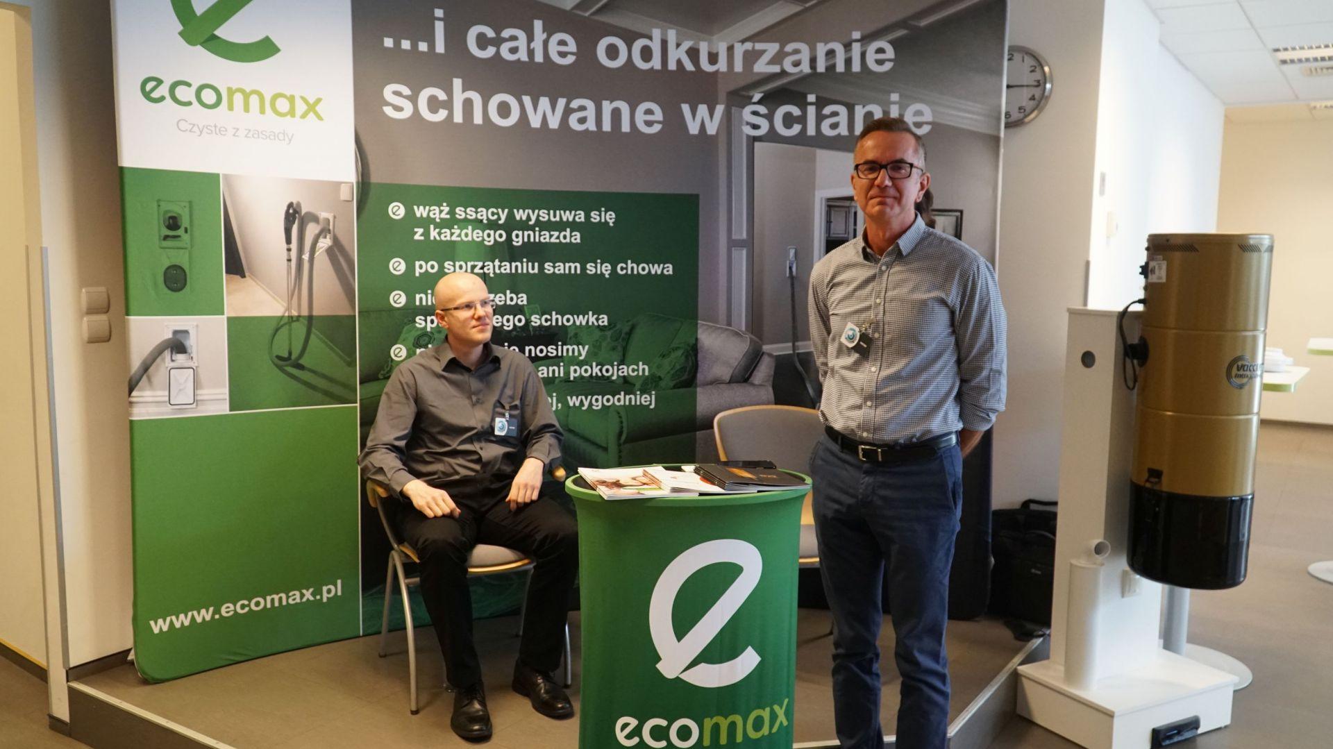 Studio Dobrych Rozwiązań w Warszawie 26 września 2018. Stoisko firmy Ecomax